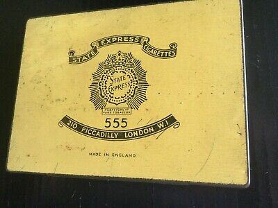 State Express 555 Tobacco Tin