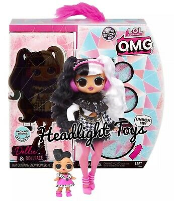 LOL Surprise WAVE 2 DOLLIE OMG Fashion Doll DOLLFACE Winter Disco Series Presale