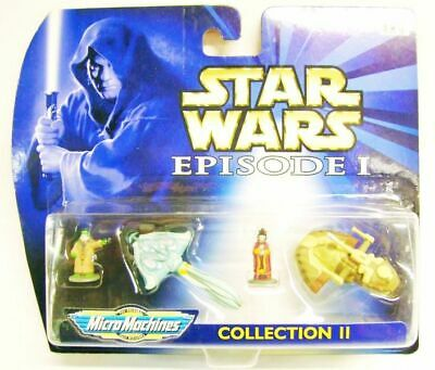 Star Wars Episode I Micro Machines - Collection II - Galoob-Hasbro