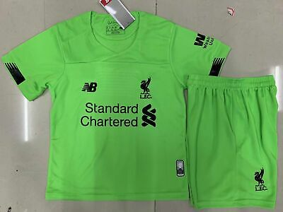 19-20 Football Kits Goalkeeper Kids Adults Jersey Strip Sports Outfit Liverpool