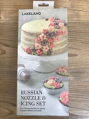 Lakeland Russian Nozzle & Icing Piping Cake Decoration  Set
