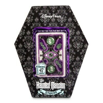 Disney Parks Haunted Mansion 52 Playing Cards GITD In Hand