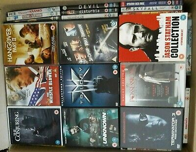 Wholesale Clearance Joblot 170+ DVD's - Ideal for resale/car boot/market stall