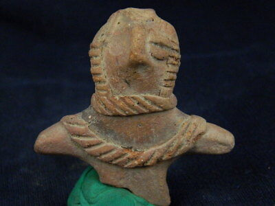 Ancient Teracotta Mother Goddess Torso Indus Valley 600 BC No Reserve #TR8002