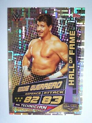 Topps Wwe Slam Attax Universe Hall Of Fame Eddie Guerrero Card Comb Post