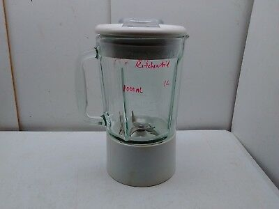 KitchenAid Replacement Glass Blender Jug Pitcher Jar Container Blades Lid Clear