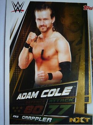 Topps Wwe Slam Attax Universe Nxt Adam Cole Comb Post