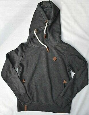 New with Defects Naketano Darth VIII Black Hoodie Pull Over