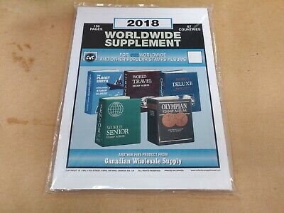 2018 World Stamp Supplement Two Post fits HARRIS Other years avail