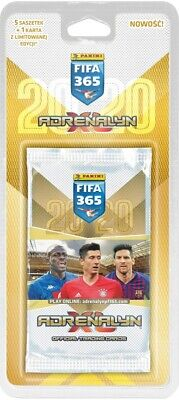 2020 FIFA 365 Panini Adrenalyn XL BLISTER 5 x Booster + 1 x Limited