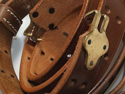 M1907 leather sling (1)  reproduction brass fittings  RIA 1918 UNUSED regulation