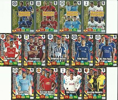 Panini Adrenalyn Xl Premier League 2019/20- Foursomes & Triples - Pick Your Card