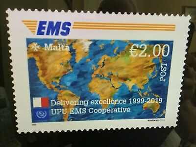 2019 Malta  20th Anniversary of the EMS Cooperative Mint NH  VF SG 2086