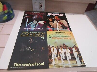 History of Rock Magazine, James Brown, Soul Music, Roots of Soul, Doo Wop, R&B
