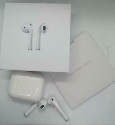 2nd Gen Fully Refurbished Genuine Apple AirPods With Wireless Charging Case