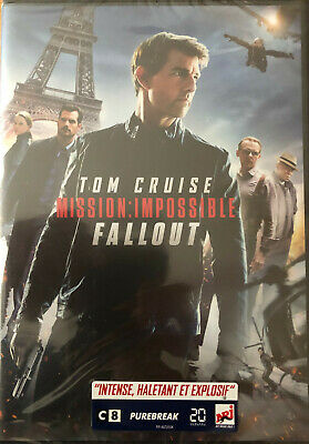 Mission Impossible Fallout  Tom Cruise  Dvd    Neuf Sous Blister