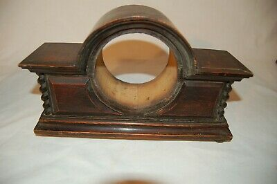 Antique Oak Barley Twist Mantle Clock Case for restoration (CA21)