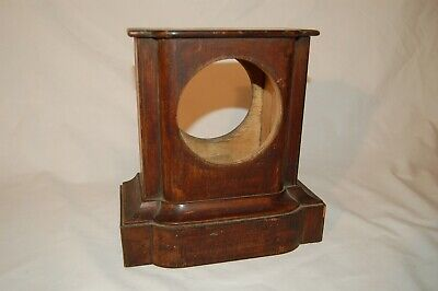 Attractive Antique Oak Mantle Clock Case for Restoration (CA 20)