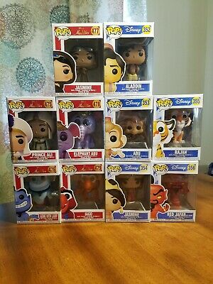 Funko Pop! Disney Movies Alladin lot of 10