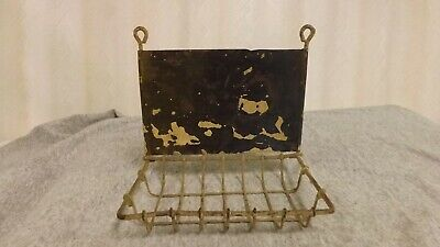 antique wire hanging soap holder