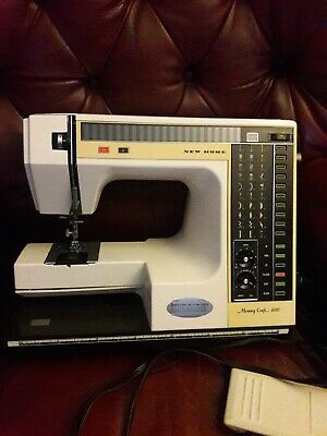 New Home Memory Craft 6000 Sewing Machine Made by Janome (2)