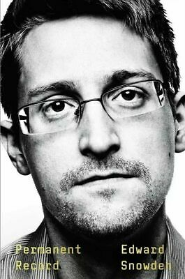 Permanent Record by Edward Snowden Social Activist Hardcover