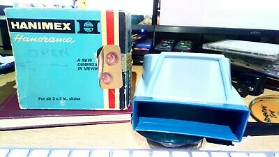 Vintage Hanimex Hanorama 35mm Daylight Photo Slide Viewer, No Batteries Needed!