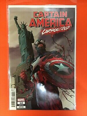 CAPTAIN AMERICA 12 Carnage-Ized VARIANT NM MARVEL 2019 Absolute
