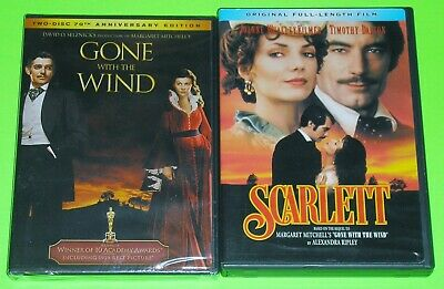 Drama DVD Lot - Scarlett (Used) Gone With the Wind (New)