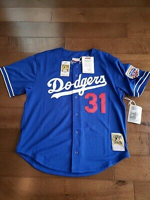 purchase cheap 19ccb c7923 JACKIE ROBINSON MITCHELL & Ness 1955 Brooklyn Dodgers Jersey ...