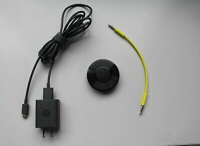 Google Chromecast Audio Media Streamer - Model RUX-J42 Used