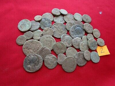 Ancient Roman coins - MIX GRADE COINS FOR CLEANING - 40 pieces . Lot 2.