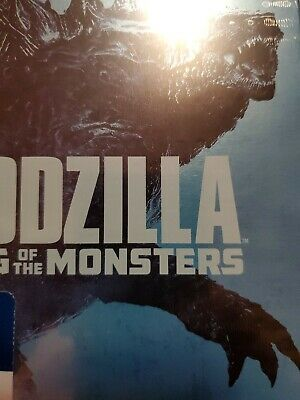 Godzilla King of the Monsters 4K Ultra HD disc only no digital no blu ray