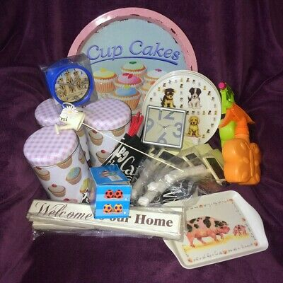 Ex-Shop Stock MIXED JOB LOT #1 ~Homeware,Gifts etc ~35 items ~ReSell/Carboot