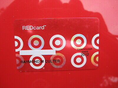 Vintage Old Credit Card: Target Redcard Mint