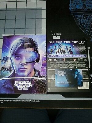 Ready Player One 4K UHD + 3D/2D Blu-ray Steelbook Filmarena FAC OPENED