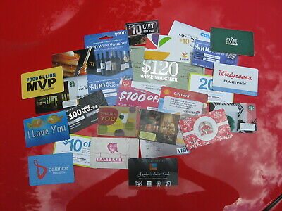 LOT of 26 DIFFERENT OLD GIFT LOYALITY CARDS: COLLECTORS ONLY: NO CASH VALUE