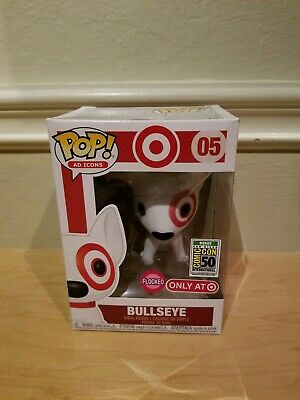SDCC 2019 Funko Pop! AD Icons Target Flocked Bullseye Exclusive light creases