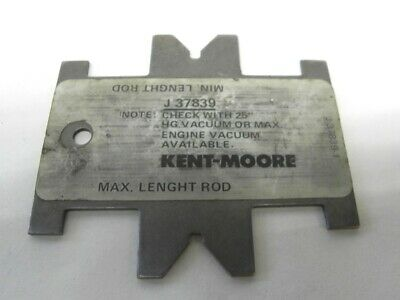 Kent Moore J-37839 Brake Booster Push Rod Height Gauge Tool From Gm Service Dept