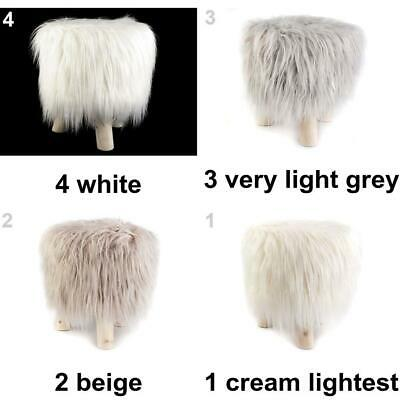 1pc Fuzzy Stool Other Home Accessories Furnishing And Decorations