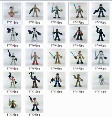 20 kinds More Playskool Star Wars Galactic Heroes Figure Xmas Toy- Your Choice