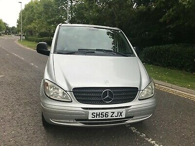 2006/ 56 Plate 6 Seater Bus Mercedes Vito 111 Cdi Long*Poss Camper Conversion*
