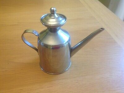 IndoorSilver Coloured Watering Can Metal