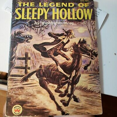 The Legend of Sleepy Hollow by Washington Irving 1955 Softcover