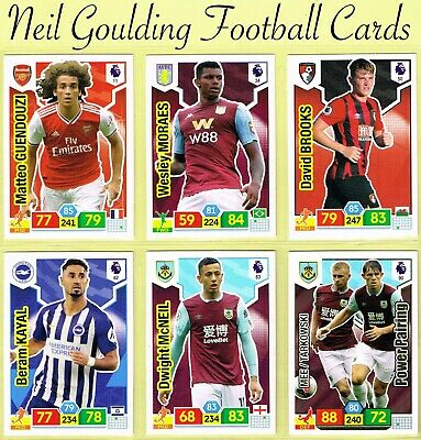 PANINI Premier League ADRENALYN XL 2019/2020 ☆ Football Cards ☆ #1 to #90