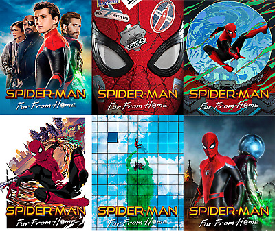 Magnet cover for steelbook Spiderman From Home Bluray Multi Language (En/Es)