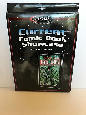 1 BCW Current/Modern Comic Book Showcases Wall Mountable Display Frame  Unused