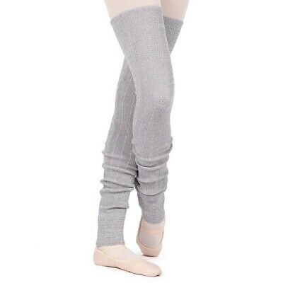 BLOCH Long Grey Leg Warmers New With Tags!