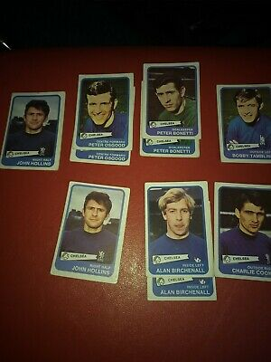Abc Footbal Cards. Yellow back Chelsea.