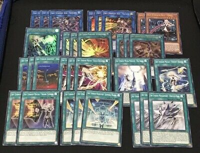 SKY STRIKER DECK CORE | MP19 SHIZUKU HAYATE KAGARI RAYE ENGAGE! WIDOW YuGiOh